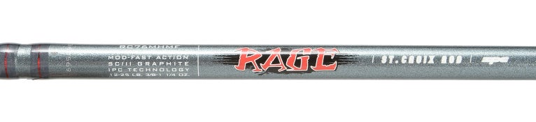 St. Croix Rage Micro Guide Casting Rods