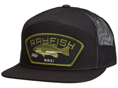 Rahfish LGB 7 Panel Snapback Hat Black 80d31409b42
