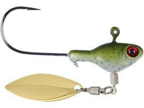 Sworming Hornet Fish Head Spin