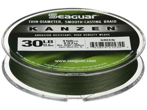 Seaguar Kanzen Braided Line Green