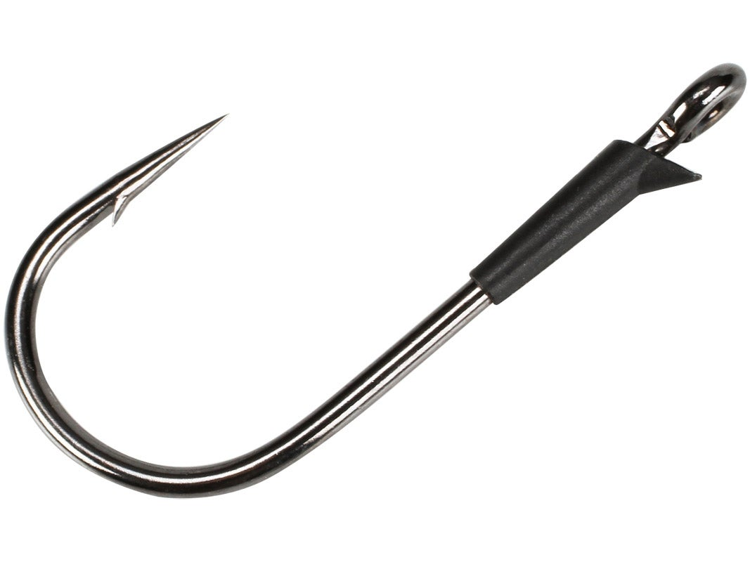 4 PACK Strike King Hack Attack Heavy Cover Flipping Bass Hooks Size 5//0