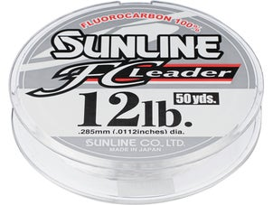 Sunline FC Fluorocarbon Leader Clear