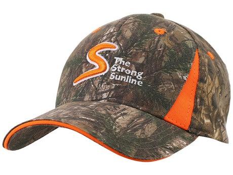Sunline Camo Hat Orange