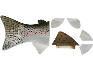 Spro BBZ-1 Replacement Fin & Tail Set