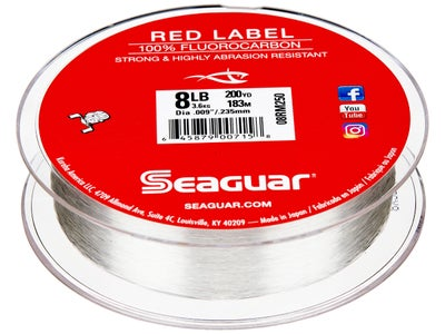 Seaguar Red Label Fluorocarbon Line