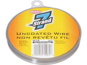 7 Strand Uncoated Wire 30ft Camo Bronze
