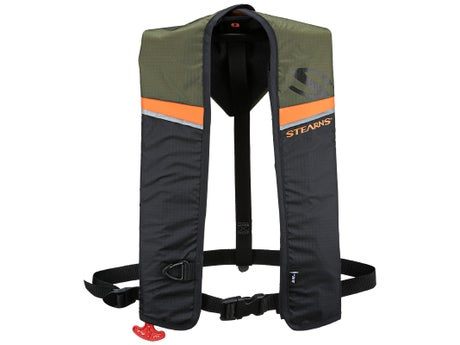 Stearns 1217 A/M 24 Inflatable Harness Hunt/Fish Green