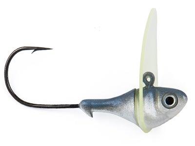 Sworming Hornet Fish Head Dude 2pk