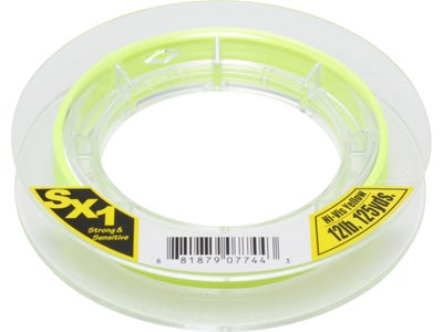 Sunline SX1 Braided Line Hi-Vis Yellow