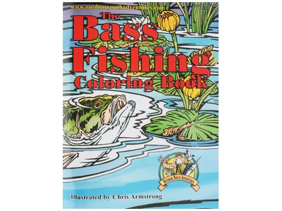 Outdoor Youth Adventures Bass Fishing Coloring Book