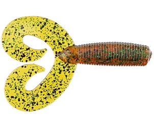 Chompers Double Tail Grub Jig Trailer 10pk