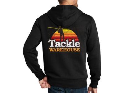 Tackle Warehouse Full Zip Retro Hooded Sweatshirt