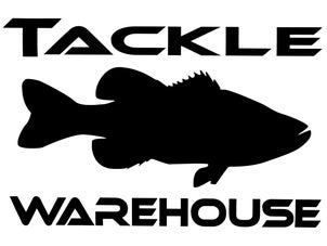 Tackle Warehouse Vinyl Stickers