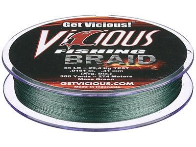 Vicious Braid Moss Green 300yd