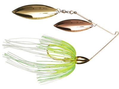 War Eagle Gold Spinnerbaits Double Willow