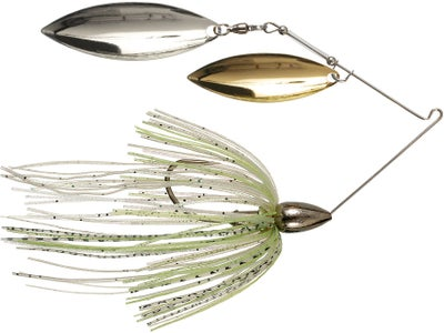 War Eagle Nickel Spinnerbaits Double Willow