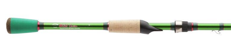 Carrot Stix Wild Wild Green Spinning Rods