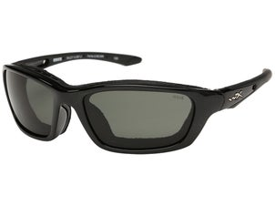 WileyX Brick Sunglasses Gloss Black Frame