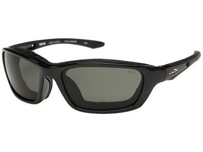 WileyX Brick Sunglasses Gloss Black Frame