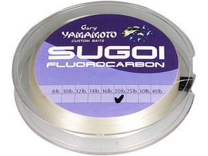 Sugoi Fluorocarbon Clear Flippin' Line 130yd