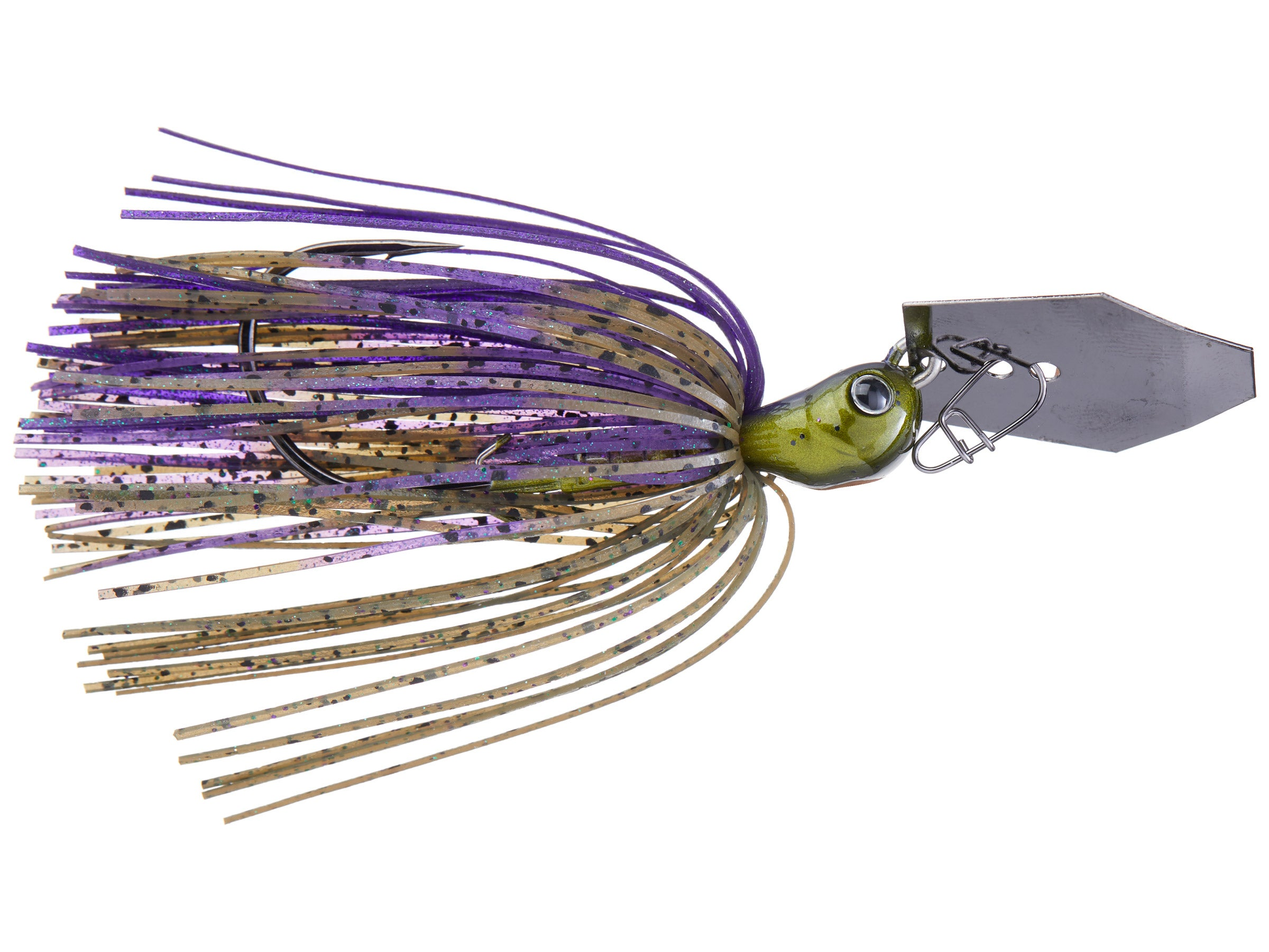 """Bass//Pike//Fish 3//8 ounce /""""GREEN SHAD/"""" Vibrating Venom Chatter Bait"""